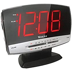Westclox 1.8'' Digital Am/Fm Clock Radio Product Category: Clocks/Clock Radios