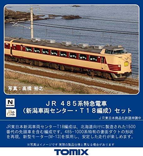 TOMIX Nゲージ 485系 新潟車両センター・T18編成 セット 6両 987…