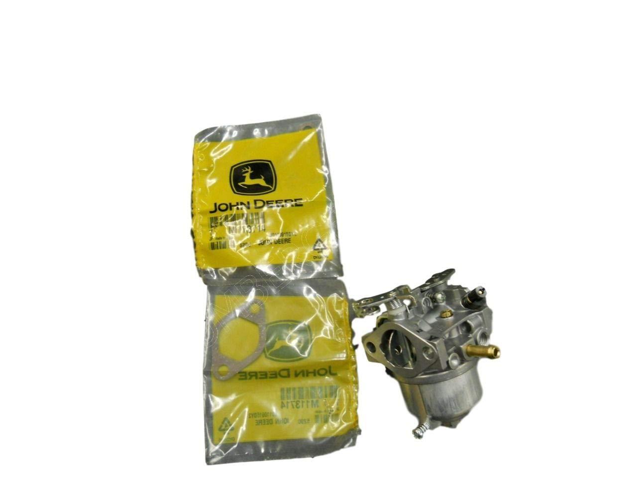 Replace John Deere Carburetor gaskets 6x4 Gator serial 068251-134033 AM122396