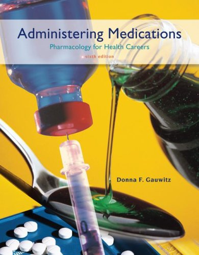 Administering Medications by Career Education