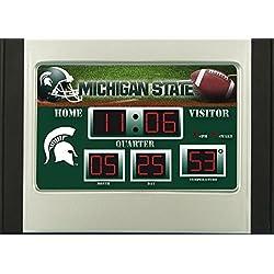 Michigan State Alarm Clock Desk Scoreboard