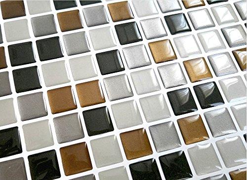 Adesivo per piastrelle e d gel effetto mosaico di alta qualità