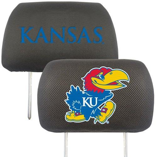 - CC Sports Decor NCAA University of Kansas Jayhawks Head Rest Cover Automotive Accessory