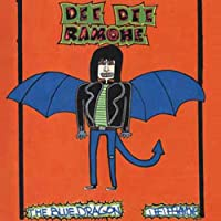 Licenses Products Dee Dee Ramone Blue Dragon Magnet