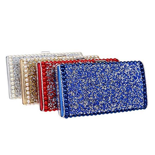 Ladies Banquet Fashion Square New Encrusted Diamond Bag Evening GROSSARTIG Small Bag Bag Evening Green Dress wBSPCnxqF
