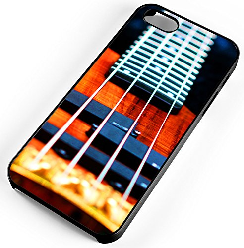 Iphone Case Fits Iphone 8 Plus 8  Bass Guitar Strings Music Band Concert Rock N Roll Black Plastic