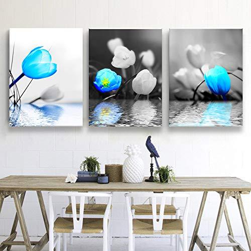 (SkywardArt Wall Art Flower Painting 12