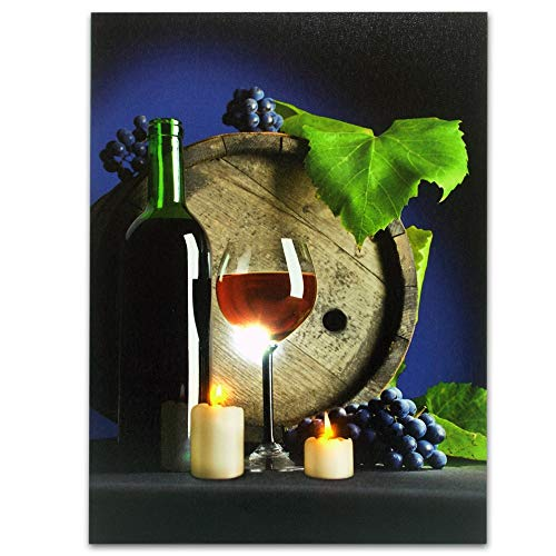 Wine Lights Led Canvas in US - 9