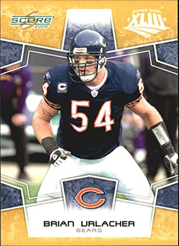 2008 Score Super Bowl XLIII Gold #55 Brian Urlacher - Football ()