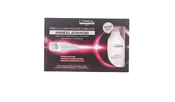 LOreal Professionnel Aminexil Caída Set de Ampollas y Champú - 500 ml: Amazon.es: Belleza