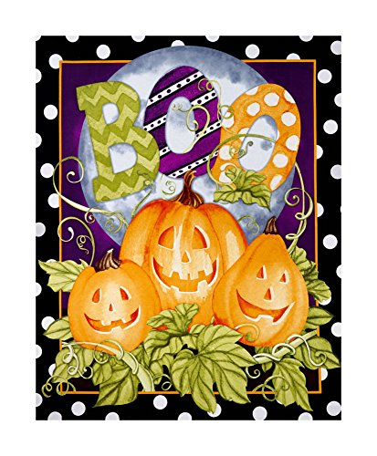 Springs Creative Products 0593839 Springs Creative Seasonal Halloween Happy Haunting 43in Panel Multi -