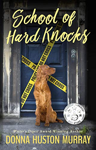 SCHOOL OF HARD KNOCKS (A Ginger Barnes Cozy Mystery Book 3)