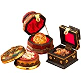 Three Kings Gifts The Original Gifts of Christmas Gold, Frankincense and Myrrh Standard Box, Set of 3