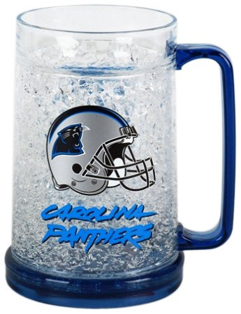 Carolina Panthers Crystal Freezer Mug
