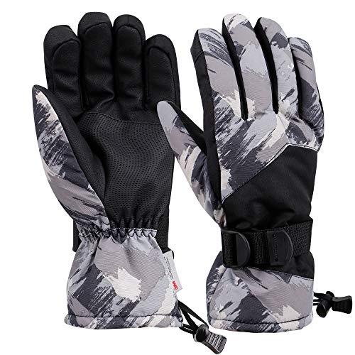 Galexia Zero Mens Winter Touchscreen Waterproof 3M Thinsulate Lined Ski Gloves