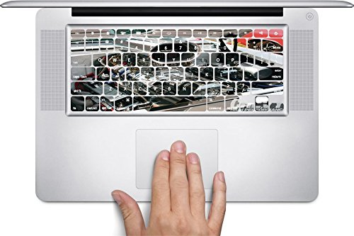 Supercharger Macbook Keyboard Decals (Fits 13, 15 inch Air/Pro/Retina)