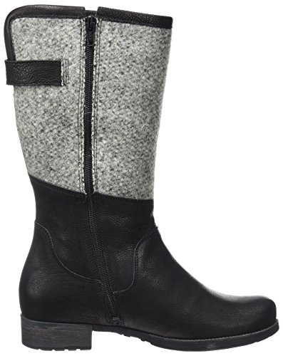 Think! Women's Denk Boots Black (Sz/Kombi 09) s6rKUcN
