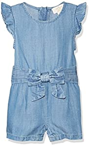 Kate Spade York Kate Spade York Girls Jillian Baby Romper, Chambray, 12 Months from Global Brands Group - Quidsi