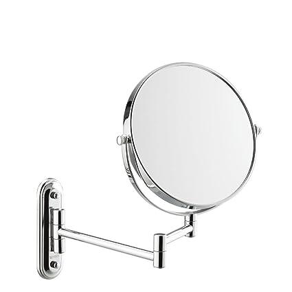 DWu0026HX Wall Hanging Restroom Cosmetic Mirror,Folding [stretch] [duplex] Extendable  Bathroom