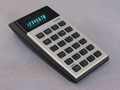 Texas Instruments TI-1025 Electronic Vintage Calculator