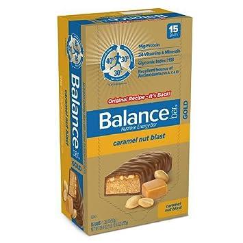 Balance Bar Gold Bar Carmel Nut Blast 176 Oz