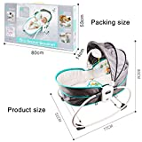 Innotic 5 in 1 Baby Cradle Portable Baby Swing