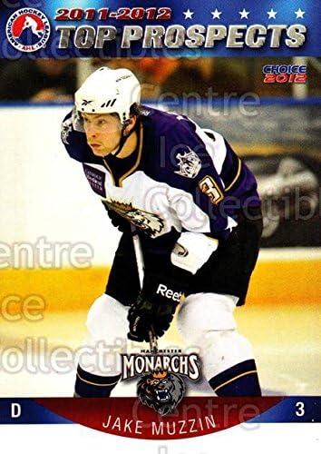 Jake Muzzin Hockey Card 2011-12 AHL Top Prospects #23 Jake Muzzin
