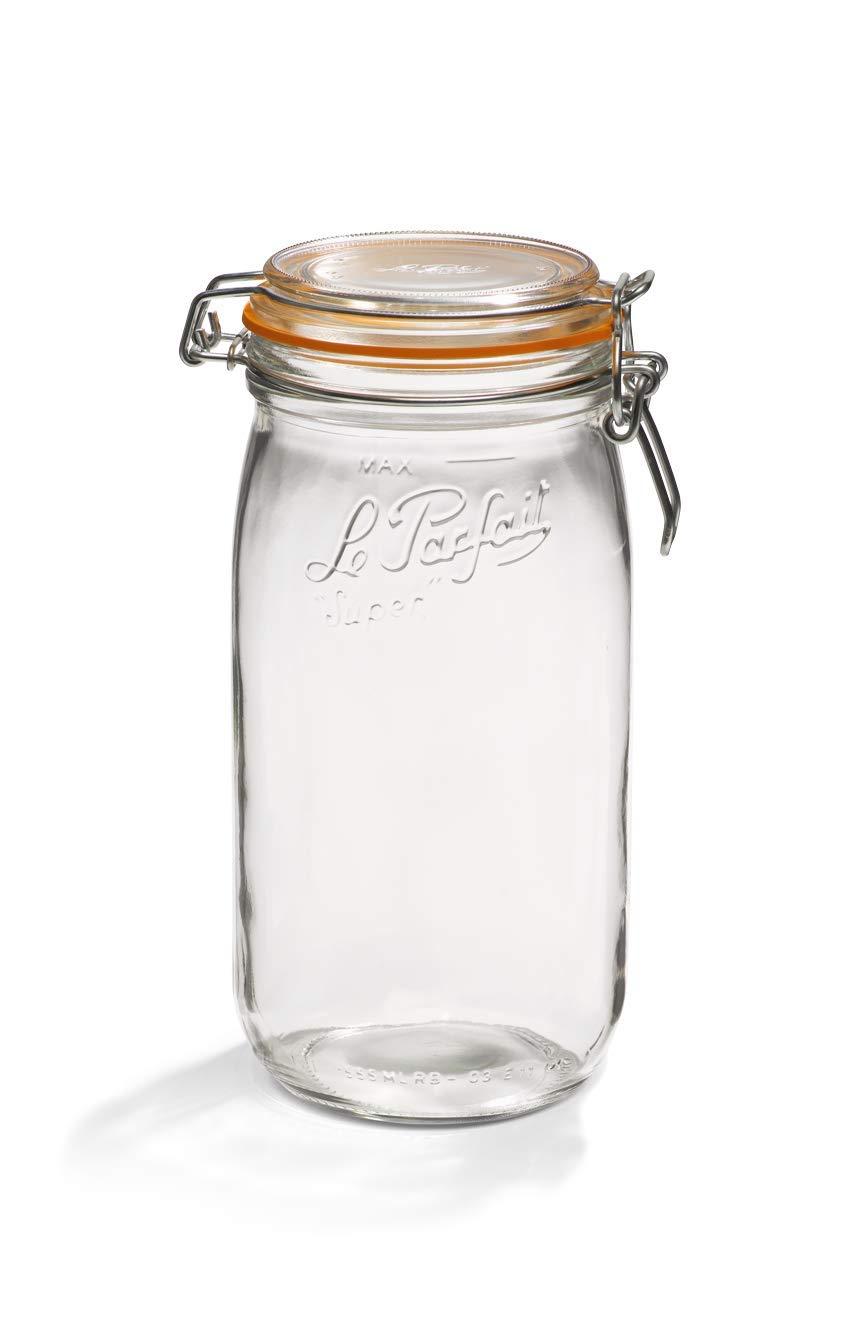 pack de 6 transparente 750 ml Le Parfait Tarro de cristal