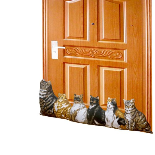 Hampton Direct Cat Draft Stopper Door Stopper Energy Saving Windows & Doors
