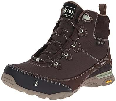 Ahnu Women's Sugarpine Waterproof Hiking Boot, Mulch, 5 M US