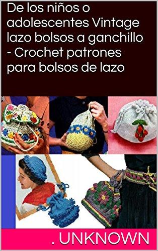 Amazon.com: De los niños o adolescentes Vintage lazo bolsos ...