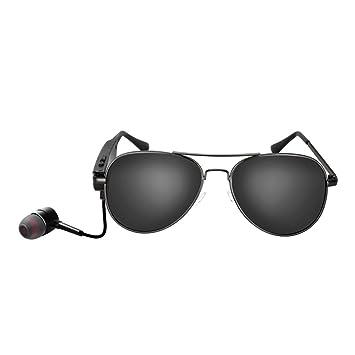 Gafas de Sol Smart Bluetooth Glasses Wireless Sports Drive Dentro del Oído Música Gafas de Sol