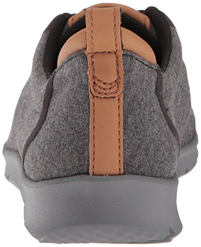 CLARKS Womens Step Allenabay Sneaker Black Heathered Fabric mUSfI1wdg