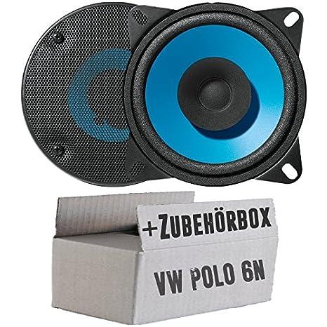 Blaupunkt IC104-10cm DualCone Lautsprecher - Einbauset für VW Polo ...