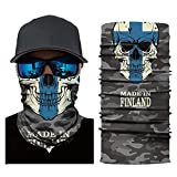 Face Mask Cycling Motorcycle Head Scarf Neck Outdoor Sun Protection for Independence Day (B 1)
