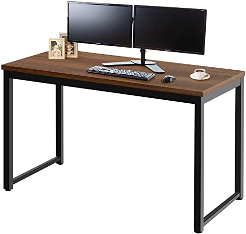 Reviewed: AZ L1 Life Concept Modern Studio Collection Soho Computer Office Desk Sturdy Writing Desk Simple Study Desk Workstation