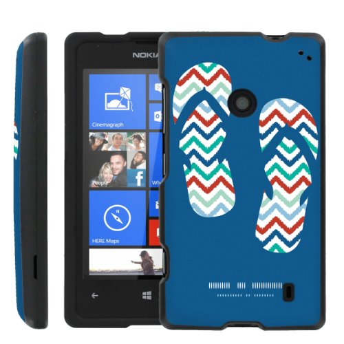 [ManiaGear] Design Graphic Image Shell Cover Hard Case (Sandle Time) for Nokia Lumia 520