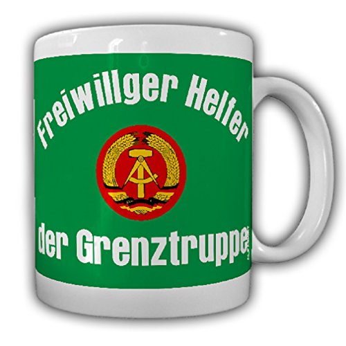 Volunteer of the border troops of the DDR Armband Police East Germany - Coffee Cup Mug