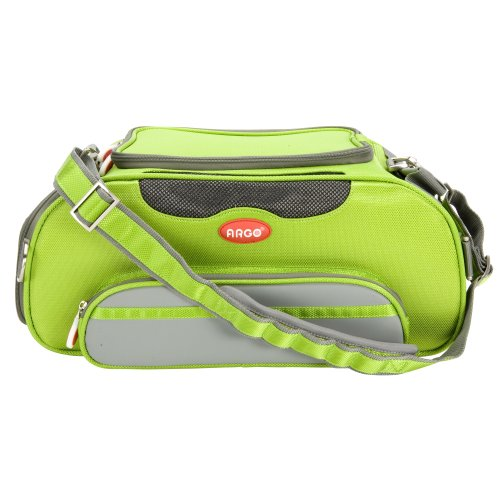 - Teafco Argo Large Aero-Pet Airline-Approved Pet Carrier, Kiwi Green