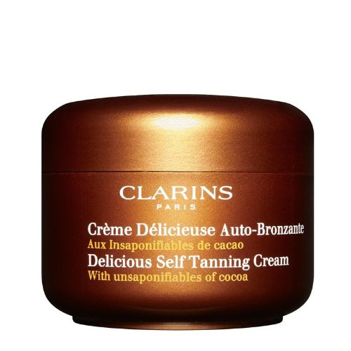 Clarins Delicious Self Tanning Cream A self tanner that smells like Cocoa?€? size: 4.2 fl oz,