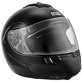 Studds Ninja 3G SUS_N3GDVFFH_BLKL Full Face Helmet with Double Visor