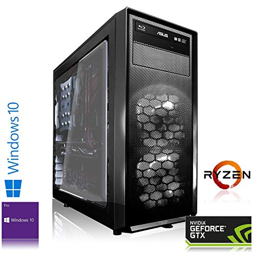 Memory PC High End PC AMD Ryzen 7 3700X 8X 4.40GHz Turbo | 16 GB DDR4 RAM | 256 GB M.2 970 EVO SSD + 2000 GB HDD | NVIDIA GeForce RTX 3070 8GB Gaming PC