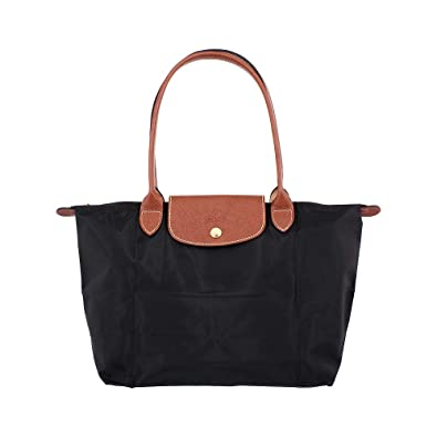 11485e4454534 Longchamp Le Pliage Small Tote Bag (Black)
