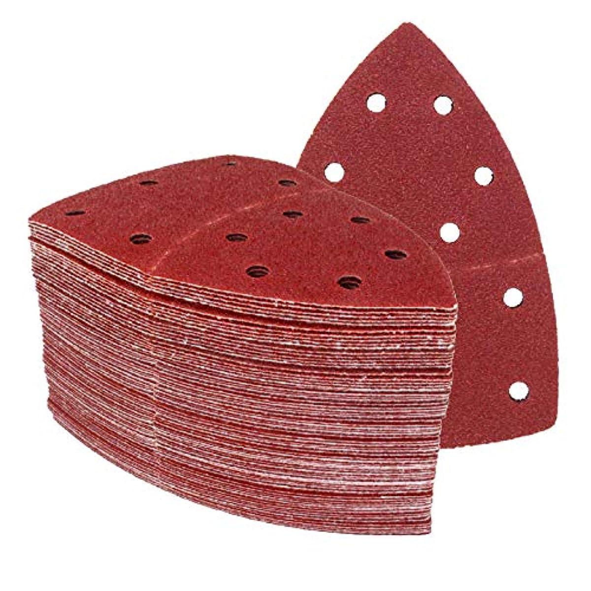60 Stück Klett-Schleiblätter 105x152 mm Korn 40-240 für Multischleifer Prio