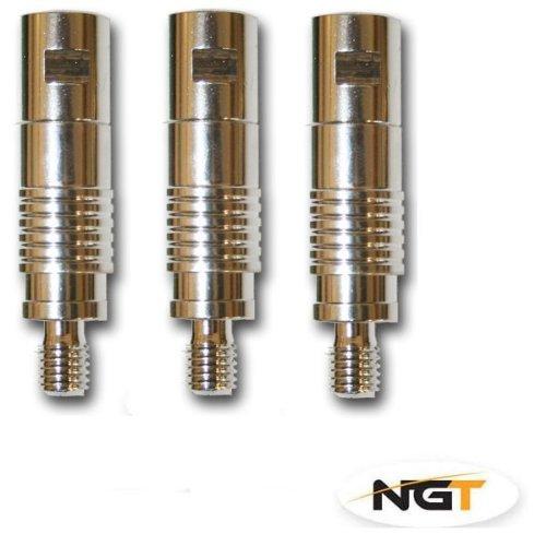 3 in 1 Quick Release System aus Aluminium zum Karpfen-//Grobfischangeln, 9 St/ück