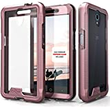 ZTE Avid Trio Case, Zizo [ION Series] with FREE [ZTE Avid Trio Screen Protector] Transparent Clear [Military Grade...