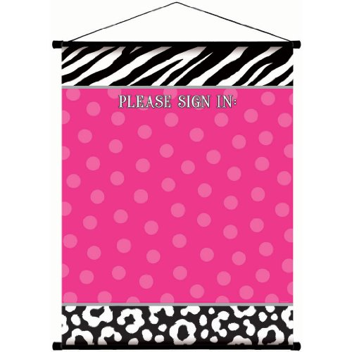 pink and zebra party streamers - 8