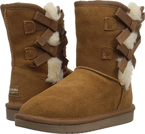 Koolaburra by UGG Girls' Victoria Short Fashion Boot, Chestnut, 13 Youth US Little Kid (Ugg Small Boots)