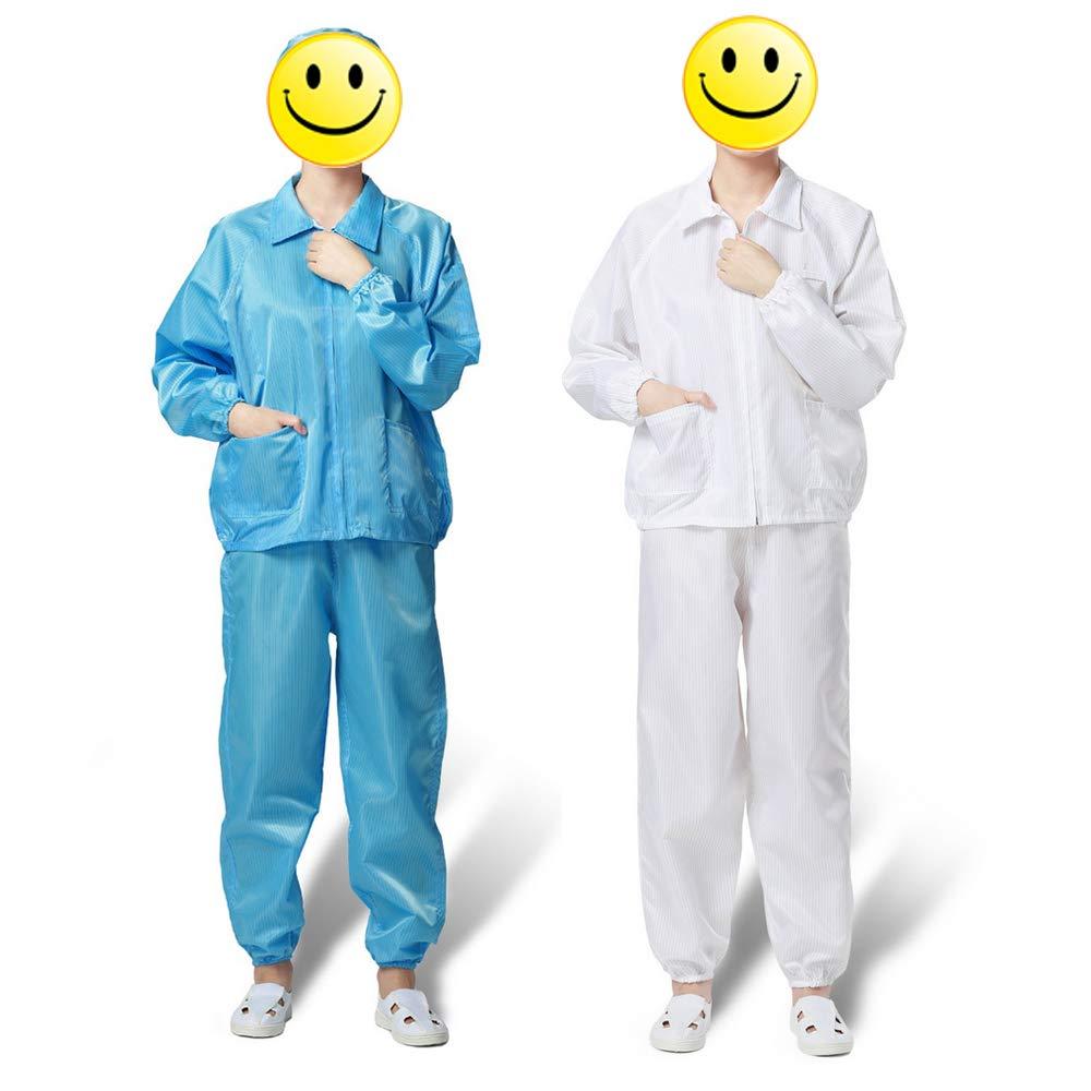 Festnight Un traje de fábrica Seguridad antiestática Ropa a prueba ...