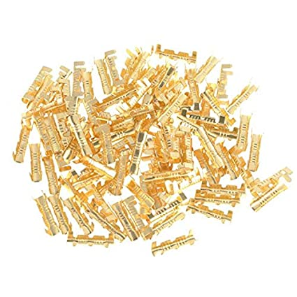 Terminal Ring - 100pcs Quick Connect Wiring Terminals Br ... on